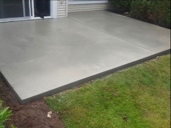 Smooth Finish Concrete